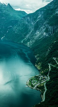 The Geiranger Fjord Centre on Eagle Road in More og Romsdal, Norway • photo: xiaoran.bzh on Flickr