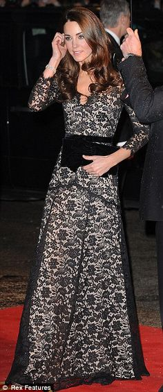 Kate - Temperley gown