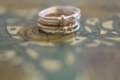 silver ring making workshop.