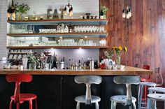 brooklyn restaurant design | Lulu & Po restaurant by Kananshree + Vaidya Design, Brooklyn