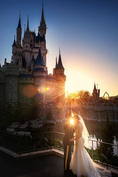 A sunrise over Cinderella Castle. Photo: Ali, Disney Fine Art Photography