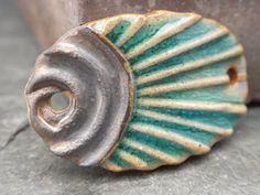 Radiate handmade rustic tribal ceramic sun by SlateStudiosSupply, $12.50