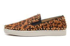 NORU SHOES Pik Boat Python Ecorce Loafers Men's Fashion Leopard Shoes -- Awesome products selected by Anna Churchill