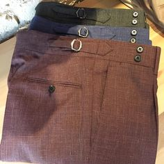 "enisinci: "" Trousers For Summer.. (Sartoria Napoletana Istanbul) """