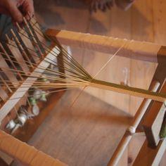 "Japanese braiding loom, ""kumihimo"""
