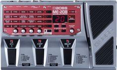 Boss ME-20B: Bass Multiple Effects  Performance-Based Effects for Bass  Persembahan kedua terbaru dalam seri ME adalah ME-20B, unit multi efek kuat yang di optimalkan untuk performa panggung. Dengan desain yang mengutamakan performa sama seperti kembarannya yang berfokus pada gitar yaitu ME-20, ME-20B difokuskan pada bassis yang menginginkan multi efek yang mudah digunakan diatas panggung serta konstruksi yang kokoh dengan harga yang terjangkau.