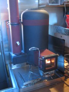 Rocket stove heater Modiifications 0001