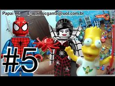 #5 Lego City Quarteto Fantástico Homem Aranha Hulk Bart Simpsons Minecra...  #homemaranha #aranha #spider #spiderman #eterparker #avengers #vingadores #toys #toys #おもちゃ #barbie #dolls #doll #kids #kids  #puppet #babyalive #lego #imaginext #marvel #DC #Comics #escola #school #educação #education #kid #kids #lol