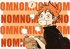 Haikyuu!! ~~ Fresh steamed buns, Hinata? YUM!