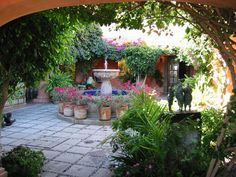 Mexican Style Courtyard House Plans | mexican style house plans with courtyard