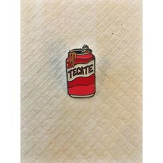 Dressed Tecate Lapel Pin