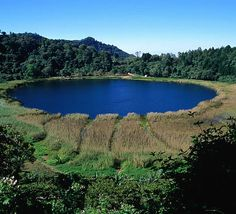 Let's relax lake side in El Salvador