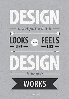 Design is ...how I feel when alone with things