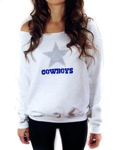 Dallas Cowboys Sweatshirt Fan Gear NFL Football by TheBohipstian
