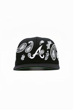 Paisley Embroidery, Embroidery Designs, Staple Pieces, Bandana, Snapback, Atlanta, Baseball Hats, Cotton, Baseball Caps
