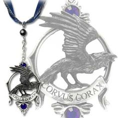 Alchemy Gothic - P549 - Ravens Call Pendant