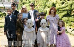 The film version of Miss Peregrine's Home for Peculiar Children, adapted from Ransom Riggs' hit 2011 novel, is getting a book devoted to the art of...