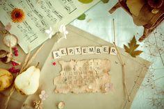"""""""September"""" - Scrabble letters :)"""
