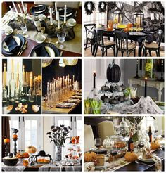 Recortes Decorados Table Decorations, Halloween, Blog, Furniture, Home Decor, Cut Outs, Decoration Home, Room Decor, Home Furnishings