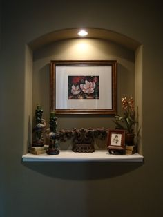Art Niche on Pinterest  Niche Decor, Wall Niches and Alcove Decor