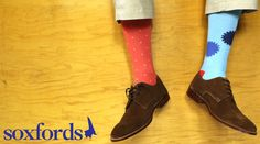 Colorful, Quirky, Classy. #Soxfords #Style