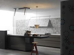 Artematica Vitrum Arte by Valcucine Kitchen Doors, Kitchen Dining, Dining Rooms, Kitchen Furniture, Furniture Design, Style Deco, Stylish Kitchen, Cuisines Design, Traditional Kitchen