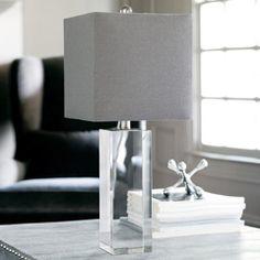 Regina Andrew Lighting Crystal Block Table Lamp RA558634
