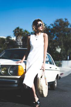 Summer Style lacausa-knit-dress summer-knits basket-bag quay-australia-sunglasses