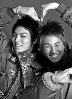 Love from TOP and Daesung ♡ #BIGBANG #ToDae