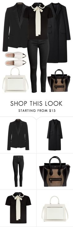 """""""2018"""" by skyl19 ❤ liked on Polyvore featuring Victoria Beckham, Margaret Howell, CÉLINE, RED Valentino and Miu Miu"""