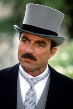 Tom Selleck as Thomas Sullivan Magnum IV (Magnum) -as Dr. Richard Burk (Friends)