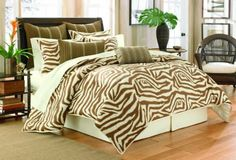 Tommy Bahama Arthur's Town Comforter Set, Queen by Tommy Bahama. $183.41. includes bedskirt measures 60x80. Includes 2 standard shams measure 20 by 26. Comforter measures 98 by 94-inch, features a 2 inch flange. Queen set inlcudes comforter, 2 standard shams, bedksirt. Tommy Bahama Arthur's Town Collection, features a zebra print. The comforter set features a comforter, 2 shams and bedskirt. Complete the bedding ensemble with the coordinating European Shams and Decorative Pillows.