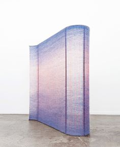 Mimi Jung wall weaving - Chamber Gallery