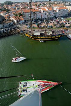 Nice view ! Vendée Globe 2012