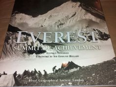 Everest Summit of Achievement: Stephen Venables
