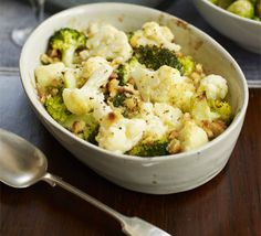 Instead of cauliflower cheese, try this alternative with broccoli, crème frâiche, mustard, white wine and nutmeg