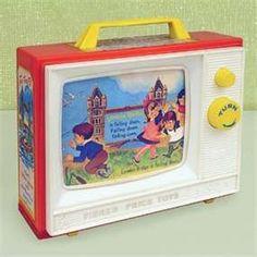 My 1st TV ... Fisher Price <3<3<3