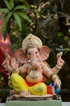 bappa morya🙏 Catch me for more like this ❤️❤️😍😘 Insta - Or Ganesh Pic, Ganesh Lord, Ganesh Idol, Ganesh Statue, Ganpati Bappa Photo, Ganpati Picture, Ganpati Photo Hd, Ganesh Chaturthi Photos, Happy Ganesh Chaturthi Images