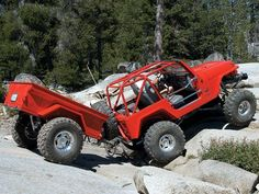 An off road trailer worthy of being towed behind a Jeep. Description from pinterest.com. I searched for this on bing.com/images