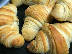 Homemade Eggless Flaky Croissant
