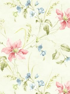 CW20501 - Wallpaper | Wisteria Cottage | AmericanBlinds.com