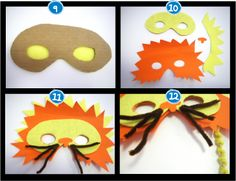 masques animaux diy