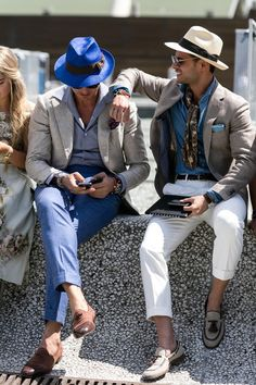 Fashion and good style comes to mind when I think of Italy. People seem very well dressed and willing to spend money on high-end clothing.