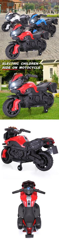 High Chairs 2986: 6V Kids Ride On Motorcycle Battery Powered Bicycle Electric Toy W Training Wheel -> BUY IT NOW ONLY: $49.99 on eBay!