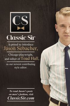 See if you can tell what section this gentleman will be writing for.    http://www.classicsir.com/featured/meet-jason-sebacher/