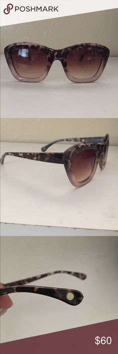 free people sunglasses FREE PEOPLE. tortoise shell ombre pink sunglasses. no flaws or scratches. never worn Free People Accessories Sunglasses
