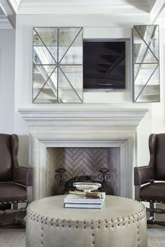 Chic And Modern Tv Wall Mount Ideas For Living Room In Fireplace Cover