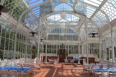 Horniman Museum One of the most outstanding features of the Horniman Museum, the Grade II listed Coombe Cliff Conservatory was constructed in 1894 to provide shelter and an artificial climate for sensitive plants. The stunning cast iron building features ornate decoration that gives an airy appearance.