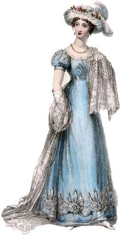 19th century fashion - A pelisse is defined as a long mantle of silk, velvet, cloth, or other material, reaching to the ankles, and having arm-holes or sleeves. They are also used often in French fashion.