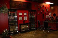 Tattoo Shop, Tattoo Studio, Barber, Liquor Cabinet, Shops, Furniture, Home Decor, Tents, Decoration Home